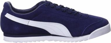 Puma Roma Suede - Peacoat-puma White-puma Team Gold-amazon Green