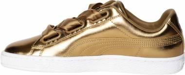 Puma Basket Heart Luxe - Gold