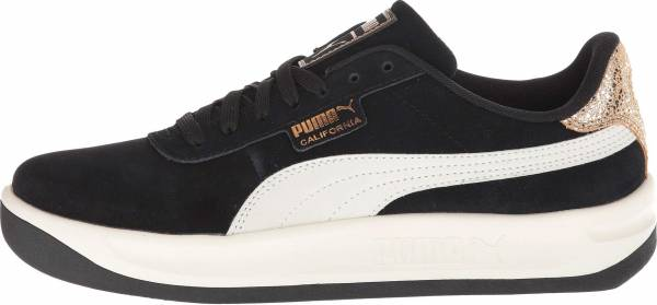Puma California Metallic - Puma Black Puma White Metallic Bronze
