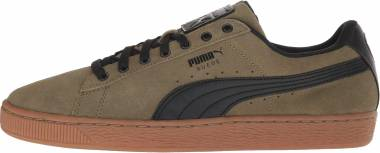 Puma Suede SP - Burnt Olive Puma Black