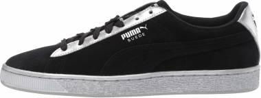 Puma Suede Classic Metallic - Puma Black / Puma Silver