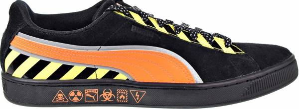 Puma Suede Hazard Puma Black/Shocking Orange