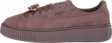 Puma Suede Platform Gem - Brown (36745202)