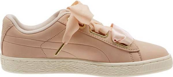 Puma Basket Heart Soft rosa