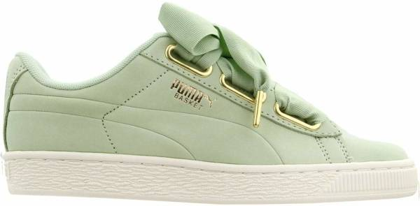 puma women basket heart
