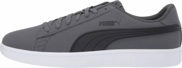 Puma Smash v2 Buck - Iron Gate Puma Black