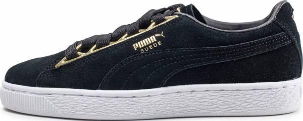 Puma Suede Jewel Metallic Black