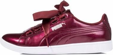 Puma Vikky Ribbon Patent - Red (36641704)