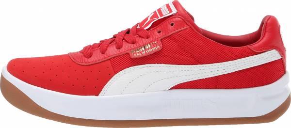 Puma California Casual - Ribbon Red-puma White-puma Team Gold