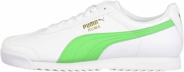 Puma Roma Basic + - Puma White-irish Green