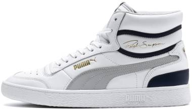 Puma Ralph Sampson Mid - Puma White/Puma Black/Puma Team Gold (36865301)