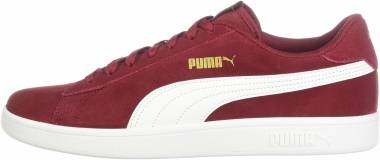 Puma Smash v2 - Rhubarb-puma Team Gold-puma White (36498929)