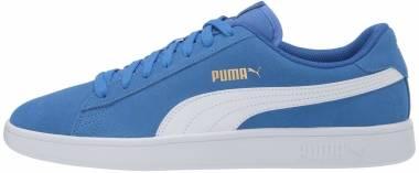 Puma Smash v2 - Palace Blue-puma White-puma Team Gold (36498940)