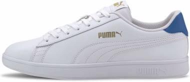 Puma Smash v2 - Puma White-palace Blue-puma Team Gold (36521518)