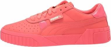 Puma Cali Nubuck - Pink Alert/Pink Alert/Puma Team Gold (36916105)