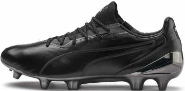 Puma King Platinum FG/AG - Black/White (10560601)