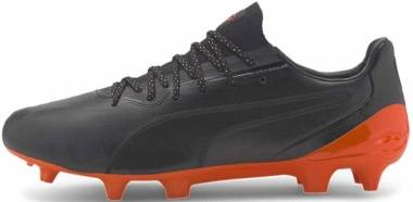 Puma King Platinum FG/AG - Puma Black Shocking Orange (10560604)