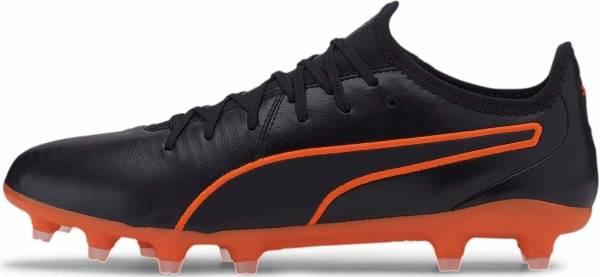Puma King Pro Firm Ground - Puma Black Shocking Orange (10560806)