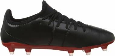 Puma King Pro Firm Ground - Black/High Risk Red (10560803)