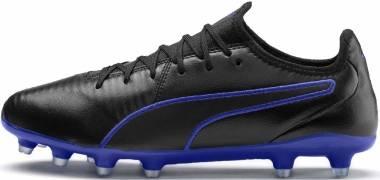 Puma King Pro Firm Ground - Puma Black-royal Blue (10560802)