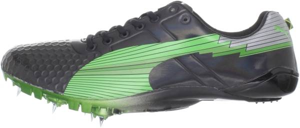Puma Bolt Evospeed Sprint LTD - Black Fluro Green
