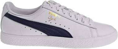 Puma Clyde Core - Puma White/Puma New Navy (36467002)