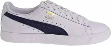 Puma Clyde Core - Puma White Puma New Navy Puma Team Gold (36467002)
