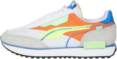Puma Future Rider - Puma White / Yellow Alert / Carrot (38204301)