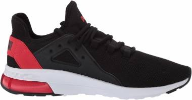 Puma Electron Street - Black/High Risk Red (36730915)