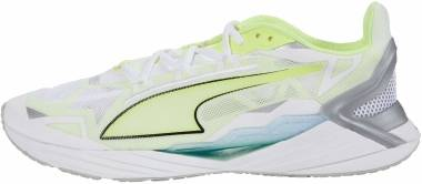 Puma UltraRide - Puma White / Fizzy Yellow (19375302)