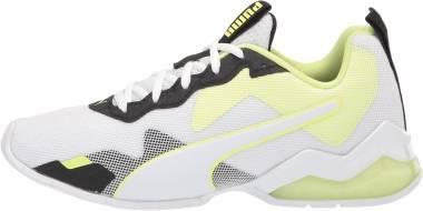 Puma Cell Valiant - Puma White-puma Black-fizzy Yellow (19405505)