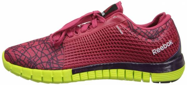 Reebok Zquick woman magenta pop/portrait purple/solar yellow