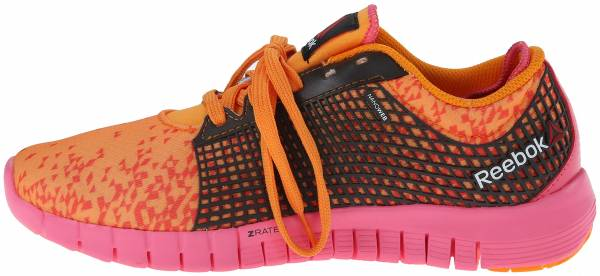 Reebok Zquick woman hazard orange/flux orange/dark brown/happy pink