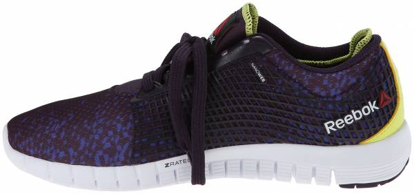 Reebok Zquick woman portrait purple/ultima purple/high vis green/white