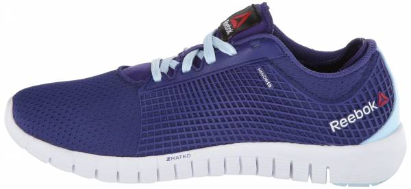 Reebok Zquick woman violet/dream blue/white