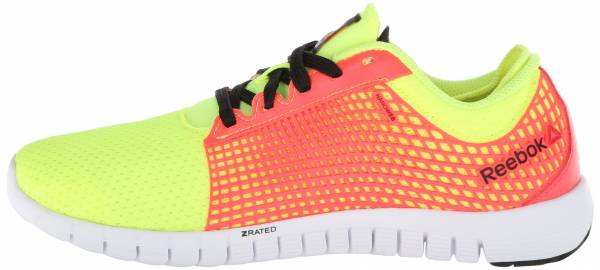 Reebok Zquick woman neon yellow/punch pink/black/white