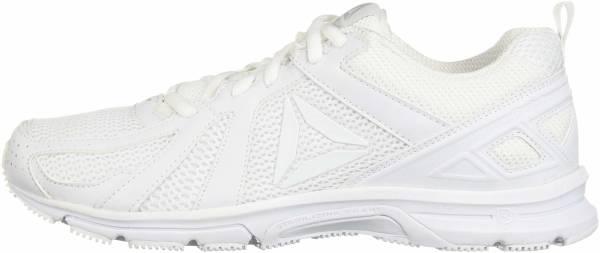 Reebok Runner - White/White/Skull Grey