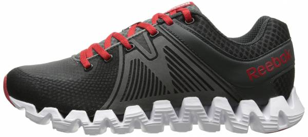 Reebok Zig Squared Rush Gravel/Medium Grey/Red Rush/White
