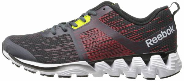 Reebok ZigKick Force men graphite/red rush/black/white/rustic wine/black/semi solar yello