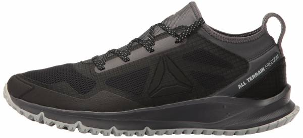 Reebok ALL TERRAIN CRAZE - Trail running shoes - grey/black/ash grey