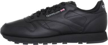 Reebok Classic Leather Patent Trainers in Nude (Natural
