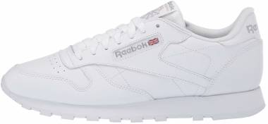 Reebok Classic Leather - White / White / Light Grey (FV7459)