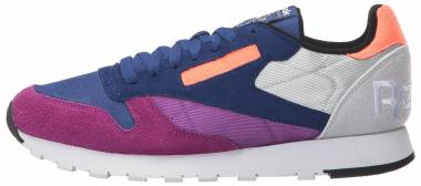 Reebok Classic Leather - Aubergine/Deep Cobalt/Skull Grey/White/Guava (BS6199)