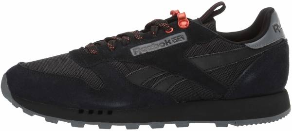 Reebok Classic Leather Black/Alloy/Carotene