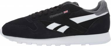 add19c37d37 Reebok Classic Leather Black True Grey Men