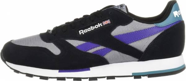 Reebok Classic Leather - Black/White/Cool Shadow/Mist/Purple