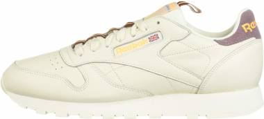 Reebok Classic Leather - Chalk/Noble Orchid/Solar Gold/Lush Earth (DV4083)