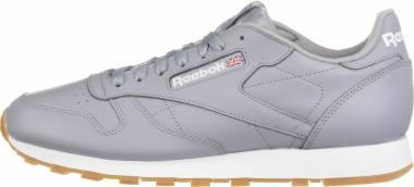 Reebok Classic Leather Silver Men