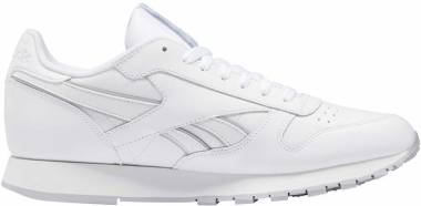 Reebok Classic Leather - White/Grey/White