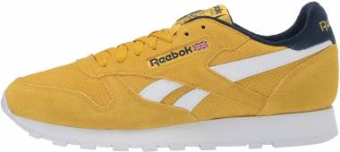 Reebok Classic Leather shoes yellow